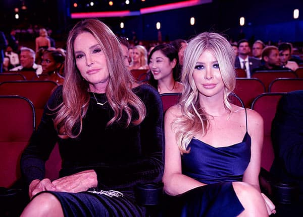 Image of Sophia Hutchins with Caitlyn Jenner