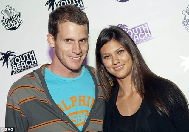 Daniel Tosh's wife, Carly Hallam