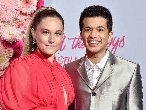 Jordan Fisher and Ellie née Wood
