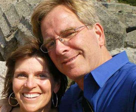 Rick Steves with his Ex-wife, anne