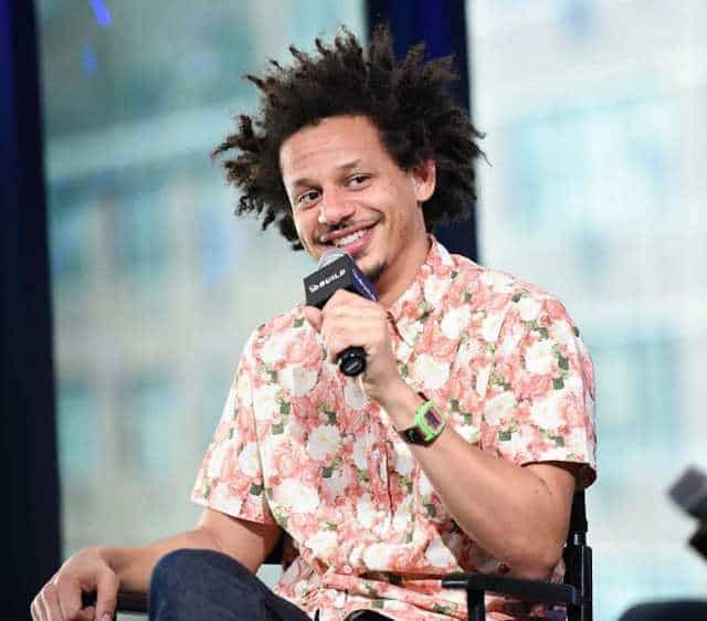 Eric Andre performing in stage