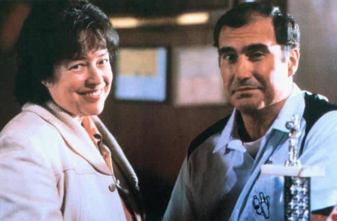 Kathy Bates smiling with her ex-husband, Tony